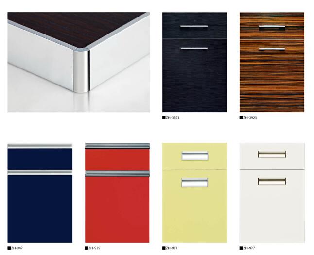 Wholesale Uv High Gloss Laminate mdf Kitchen Cabinet Door