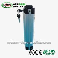 optimum 36v 10ah Aluminum case e bike battery