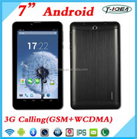 7 Inch Dual Core Android 3G Tablet Pc With Keyboard/Hot Rugged Tablet 3G Phone Call Fucntion