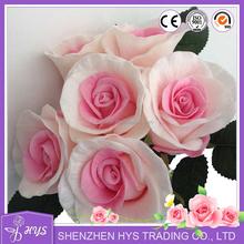 Wholesale Artificial Home Decoration Rose Flower Bouquet