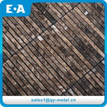 Building Finishing Materials Backgrounds Wall Stone Mosaic Pattern Making Table