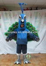 2014 HI open face peacock costumes