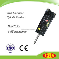 HB20 Construction Power Tool for Excavators Top Type Hydraulic Hammer