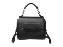 Black color Fashion design wholesale bags set leather jelly bag C006
