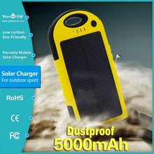 1YEAR WARRANTY!!!2015 hot selling 5000mah !!!best factory price solar charger solar mobile phone charger for all cell phone