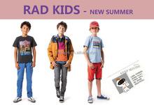 PARIS western style clothing fashion children t shirts,pants,skirts,jacket,dresses,,all seasons clothing for children RAD KIDS