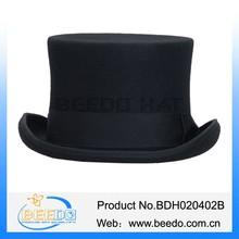 Venta al por mayor de fieltro de lana traje top sombreros baratos venta