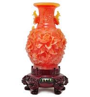 Reed jade color penoy flower vase , big vase for home decoration
