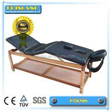 Mix colour wooden portable facial beds massage table