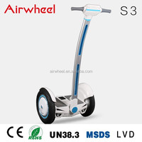 Airwheel S3 chinese electric car with CE,RoHS,MSDS certificate SONY battery in changzhou