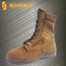 New design coyote colour army boots military desert boots