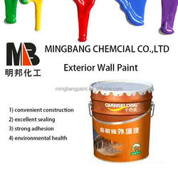 All weather house exterior wall latex paint
