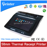 10.1 inch touch screen android receipt printer