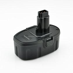 Tiggopower 18V 2.5a ni-mh rechargeable black case dewalt power tool battery