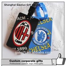 Wholesale Fashion Portable Standard Size Silicone Luggage Tag