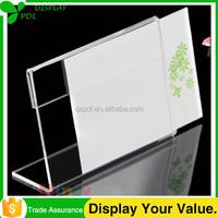 Factory Cheap Custom Transparent Acrylic Card Racks Wholesale