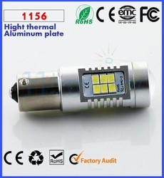 High Quality auto lamp 1156 Yellow RED White 3528 SMD 11567 Auto LED lighting 850LM 12V 24V