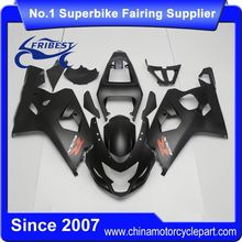 FFGSU002 China Fairings Motorcycle For GSX R750 GSXR750 GSX R600 GSXR600 2004 2005 Matt Black