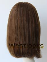 Fantastic Mongolian Human Virgin Hair Jewish Kosher Wigs