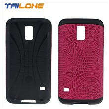 2015 PU leather design for Samsung s5 case