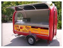 Mobile pizza vending machine juice cart/trolley/vans/trucks, used beverage cooler concession food carts for sale