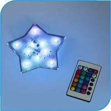 2015 Party Decoration Modern Amazing Party Events Decorative Star Shape LED Indoor Lighting