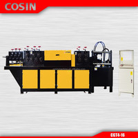 4mm-16mm Automatic steel bar straightening and cutting machine