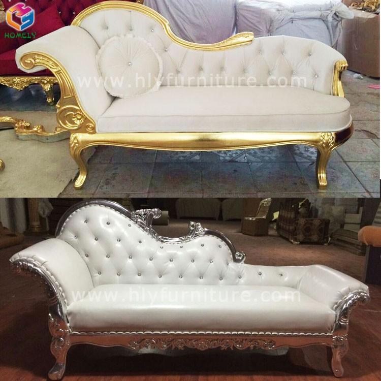 haute qualit utilis en bois massif royal salon de mariage en cuir velours inclinable chaise salon - Salon En Bois Massif Cuire