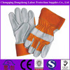DongSheng labor Industrial leather hand gloves/cow split leather work glove