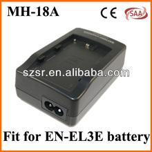 Camera Battery Charger for Nikon Mh18 Mh 18 En El3 El3e El3a