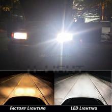 Fanless car headlight 12-24v H1 H3 H27 H4 H7 H8 H9 H10 H11 9005 9006 auto LED lamp