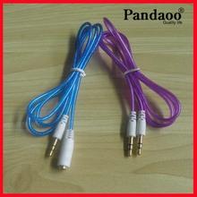 3.5mm hembras estéreo de audio digital por cable