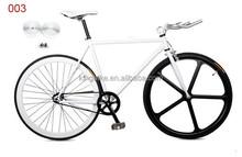 sample can be offered/ 700c steel frame 50mm rims KT flip flop hub fix gear bike