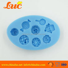 Top quality best selling festival lace silicone molds
