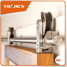 Fine appearance factory directly barn wooden door sliding hardware