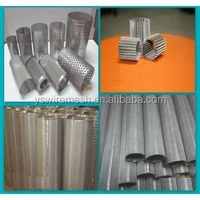 filter cartridge/ wire mesh cylinder filter/ stainless steel perforated cylinder filter