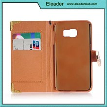 2015 for s6 galaxy case filp leather cover