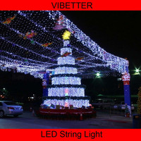 2015 IP44 Wedding Party Festival Christmas Decoration Solar Powered LED String Lights