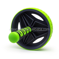 Colorful AB Exercise Wheel Roller