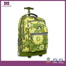 2015 new design trolley backpack, hot sale trolley school backpack, high quality cheap trolley backpack