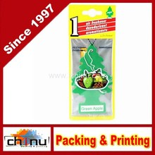 Hanging Car and Home Air Freshener, Green Apple (450040)