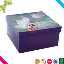 High quality cardboard waxed paper packaging box