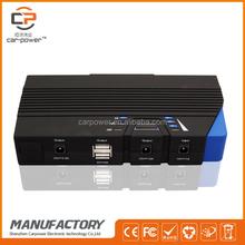 High battery capacity 15000mAh emergency tool kit car jump starter for 12V gasoline&diesel car&truck