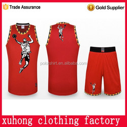 China made basketball jersey couple design plus size many colors