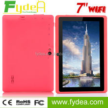 """7"""" PC Tablet Allwinnet A33 Android 4.4 Touch Screen Tablet With Quad Core Wifi G-senser"""