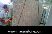 Rough Flamed Maple Red Granite Slab/China G562 Granite