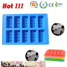 Silicona lego moldes para hacer velas / del caramelo / jabones y cubos de hielo