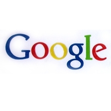 Metal logo Google type Self Adhesive sticker label