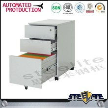 South America market hot sale office furniture 3 drawer mobile filing cabinets