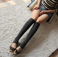 fashion warm knee legging lady cotton dresses